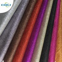 China Customized Glitter Wall Fabric High Abrasion Resistance Easy Cutting Solid Color wholesale