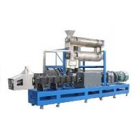 China 2000kgs/h twin screw extruder  fish feed making machine japan wholesale