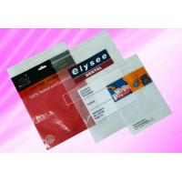 China OEM SGS PP Plastic Zip Lock Bags with 1 - 8 Color Print on Both Side on sale