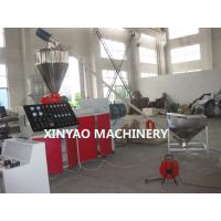 China SBG250 PVC, UPVC Double Wall Corrugated Pipe Machine with Conical twin screw wholesale