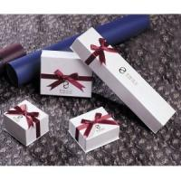 China Small Paper Bracelet Box,  ring and necklace white Jewellery gift Boxes for sale  wholesale