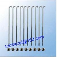 China Zinc Plated Motorcycle Spokes and Nipples wholesale