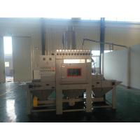 China Turntable Abrasive Transmission Dustless Blasting Equipment , Wire Mesh Belt Continuous wholesale