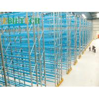 China High Strength Warehouse Racking System Metal Racks Spray Painting Surface Treament wholesale
