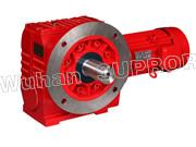 China S helical gear and worm reducer/Helical Geeared Motor-Wuhan SUPROR Trans mission Machinery Co.,Ltd wholesale