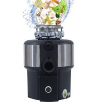 China DSWA New Kitchen Food Garbage Processor Disposal Crusher AC motor white color with remote control wholesale