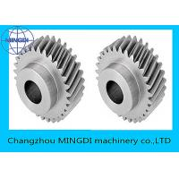 China Forged , Machined , Heat Treated Single Helical Gear Bevel Wheel OEM wholesale