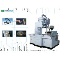 China Easy Operating Vertical Injection Molding Machine With Transfer Moving Molding Function wholesale