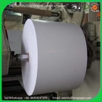 China 100% virgin wood pulp 115gsm C2S glossy art paper couche paper price wholesale