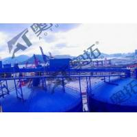China Width 120mm~1000 Mm Air Slide Conveyor Bule Color With Capacity 1200t/H wholesale