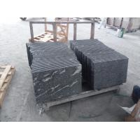 China Black With Snow White Natural Stone Slabs Nero Biasca Granite Pavement Stone wholesale