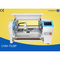 China CHMT528P Auto Feeder SMT Pick And Place Equipment , 2 Cameras Pnp SMT Surface Mount System wholesale