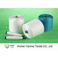 China Dyed Colored Ring Spun 100 Percent Polyester Yarn High Strength For Sewing Machine wholesale