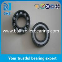 China 6011 2RS Sealed Full Ceramic Bearings Low Friction Coefficient 2.5mm - 16mm Width on sale
