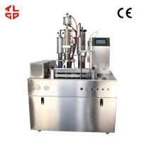 PLC System Oxygen Gas Filling Machine with Compressed Air Souce Manufactures