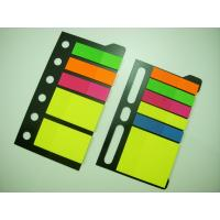 China Customized Colorful Printed Sticky Note Pads , Shaped Sticky Notes For Color-Coding wholesale