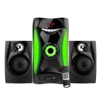 China Wooden Bluetooth Heavy Bass 2.1 Speaker Sound System Sub Woofer Home Theater wholesale