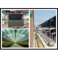 China Quietest Central Air Source Heat Pump For Meat Chicken Farm Heating wholesale