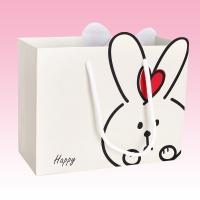 China custom full color christmas paper bag  packages printing factory wholesale