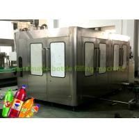 China Automatic Isobar Fizzy Drinks / Carbonated Soft Drink Filling Machine 8.07kw on sale