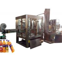 Quality Stable Drinking Water Filling Machine , Soda Soft Drink Making Machine for sale