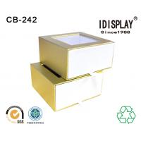 China Pvc Window Custom Printed Decorative Small Cardboard Gift Boxes Packing Candy Chocolate wholesale