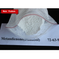 China White Powder Dianabol / Metandienone Oral and Injection Muscle Building Steroids CAS 72-63-9 wholesale