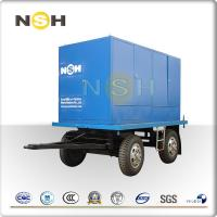 China Water Gas Transformer Oil Purification Plant Trailer Mounted Double Axle Cargo on sale