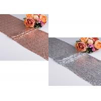 China Embroidered Coffee Table Runner Noble Warm Stylish Anti Mildew Comfortable wholesale