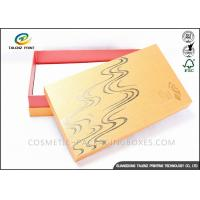 Bright Colored Cardboard Gift Boxes Matt Laminated Finishing 25x15x3cm Dimension