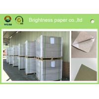 China Offset Printing 0.42mm Thick Paper Board Duplex Board Grey Back Single Side Coat wholesale