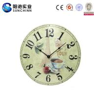 China Muticolored Home Products Wooden Wall Clock /Wall Decor/ Wall Decoration For Living Room Supplies wholesale
