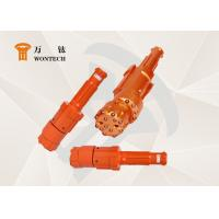 China High Speed Eccentric Rock Hammer Drill BitsWith Casing Tube Stable Performance wholesale