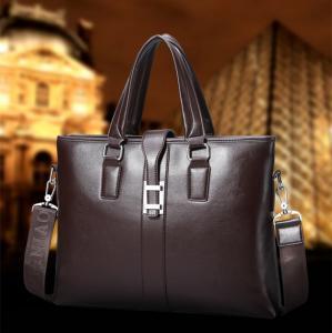 China 2017 Men Casual Briefcase Business Shoulder Bag Leather Messenger Bags Computer Laptop Handbag Bag Men's Travel Bags wholesale