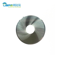 China Double Bevel Tungsten Carbide Round Cutting Blade For Cigarette Filter wholesale