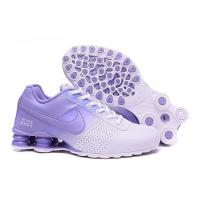 Quality Nike Shox Deliver Shoes Light Blue Woman And Men's Sneakers for sale
