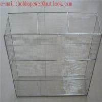 China stainless steel wire mesh medical basket /medical instruments tray wholesale