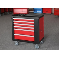 China 30 Inch 6 Drawers Spcc Premium Tool Chest With Side Door Color Can Be Customized wholesale
