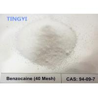 China High Purity Local Anesthetic Pain Killer Powder  Drugs Benzocaine CAS 94-09-7 for Relieving Pain on sale