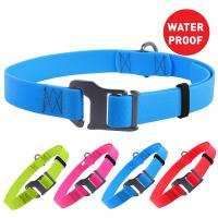 "China Colorful Water Resistant Dog Collars Stylish Skin Friendly Neck Girth 14"" - 26"" wholesale"
