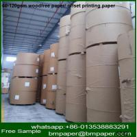 China Best Price Custom Made Cylinder Paper Duplex Board / Offset Printing Paper Sizes on sale