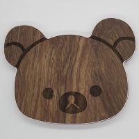 Buy cheap Fast Charging Wooden Wireless Charger Cartoon Shaped with Anti - Slip Circle Pad from wholesalers