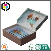 China Eco-friendly White Paper Gift Box with Lid for Jewelry; Custom Design Gift Box wholesale