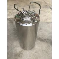 Eco Friendly Material 5 Gallon Ball Lock Keg With Pressure Relief Valve And Lids