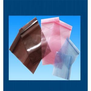 China Anti static Zip lock Bags wholesale