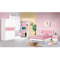 Buy cheap Popular Pink Children Bedroom Furniture Sets 1.2 Meters Width Bed Simple Design from wholesalers