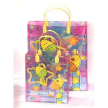 China Professional Design Handle Clear PP Bag Custom Printed Plastic Shopping Bag wholesale