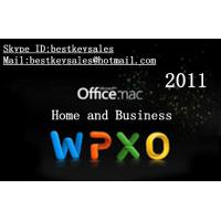 China Microsoft Office 2011 Home & Business MAC FPP Key For Microsoft Office Product Key Codes Online Activation on sale