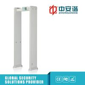 China Multi - Alarm Door Frame Metal Detector 100 Security Level For Transportation Terminals wholesale