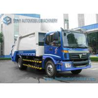 China FOTON 4X2 2 Axle Diesel Garbage Container Truck 5000kg / 10M3 Load wholesale